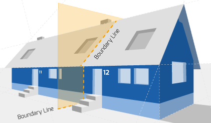 Party Wall Diagram