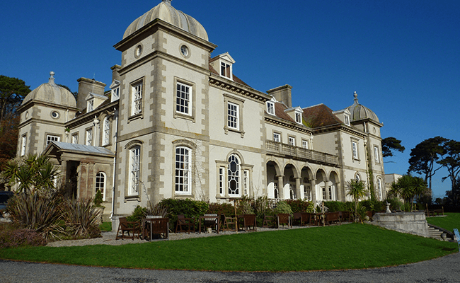 fowey-hall-building